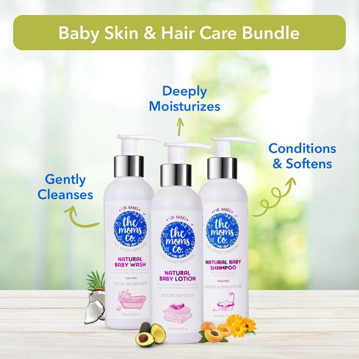 The Nestery: The Moms Co - Natural Bath Essentials For Baby