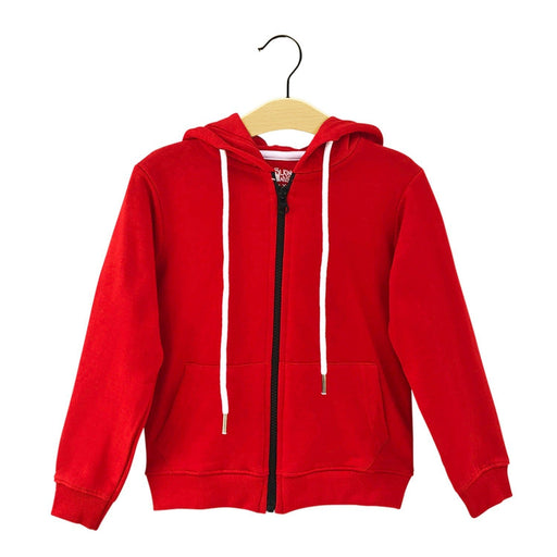 The Nestery : The Talking Canvas - Skiing Hoodie - Red