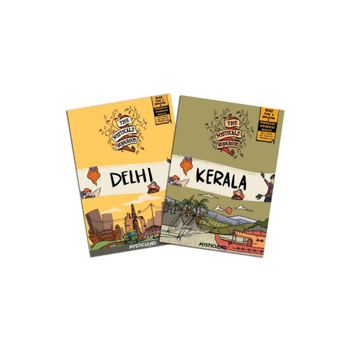 The Nestery : The Unscripted Life - Delhi & Kerala - Printed Worksheets