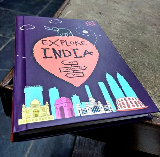 The Nestery: The Unscripted Life - Explore India Activity Book