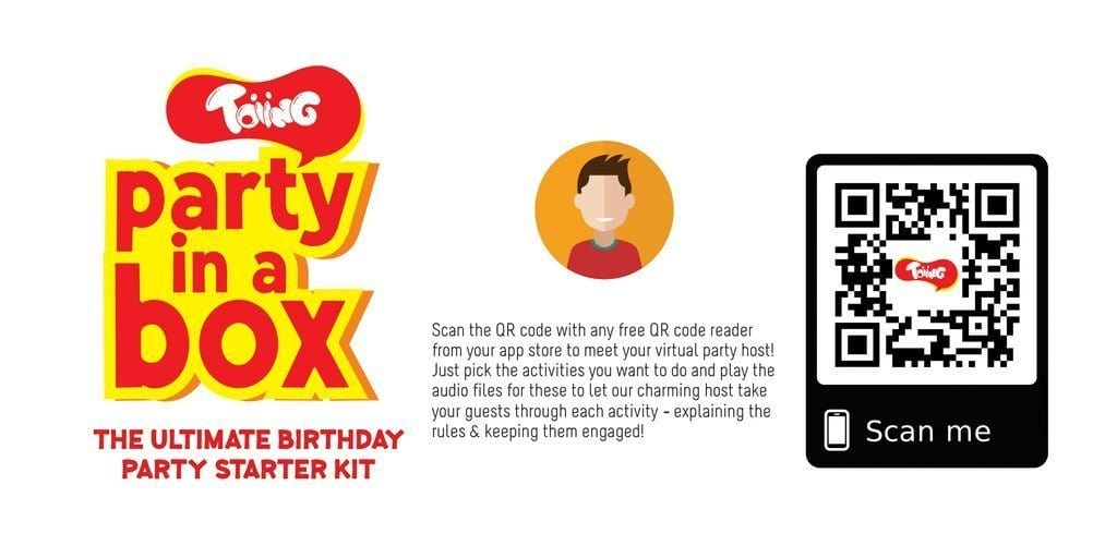 The Nestery: Toiing - PARTY IN A BOX: THE ULTIMATE PARTY STARTER KIT FOR A BIRTHDAY PARTY
