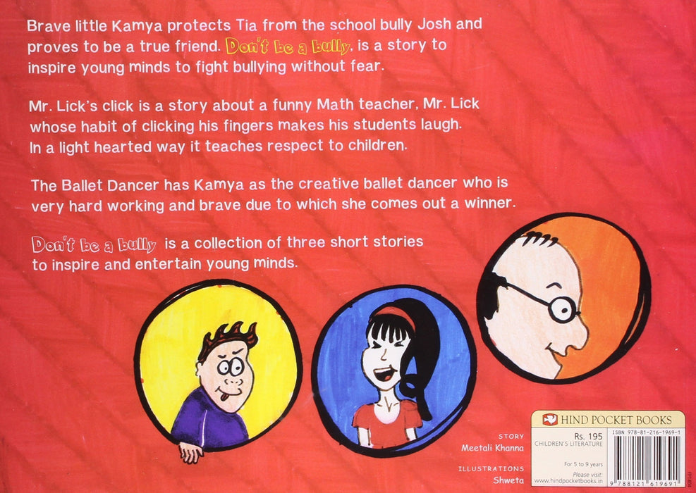 The Nestery: Tota Books - DON'T BE A BULLY! AND OTHER STORIES-BACK COVER