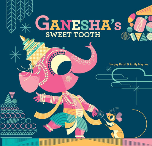 The Nestery: Tota Books - GANESHA'S SWEET TOOTH-BACK COVER