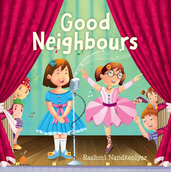 The Nestery: Tota Books - GOOD NEIGHBOURS-FRONT COVER