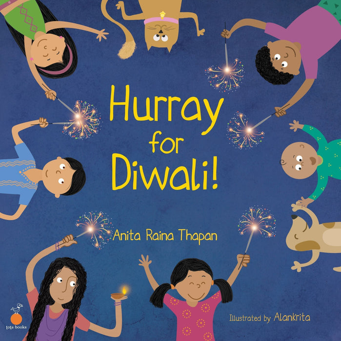 The Nestery: Tota Books - HURRAY FOR DIWALI!-FRONT COVER