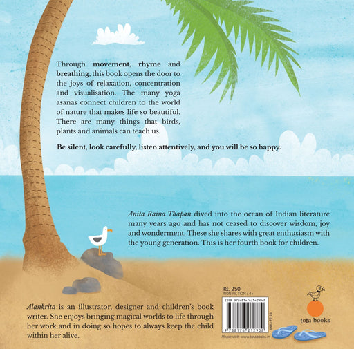 The Nestery: Tota Books - I LOVE YOGA-BACK COVER
