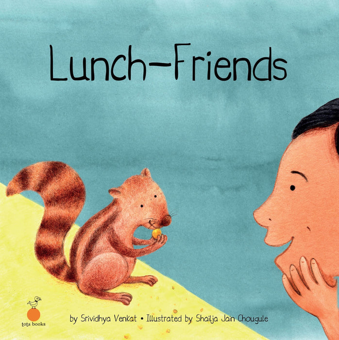 The Nestery: Tota Books - LUNCH-FRIENDS-FRONT COVER