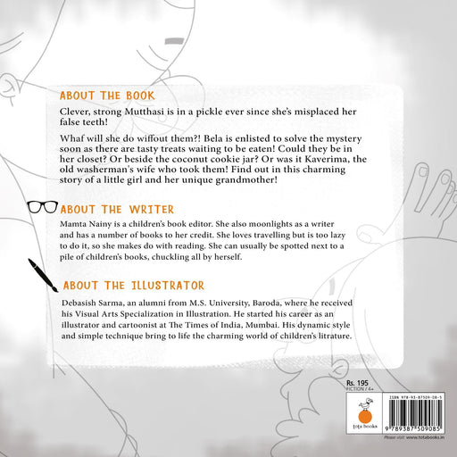 The Nestery: Tota Books - MUTTHASI'S MISSING TEETH-BACK COVER