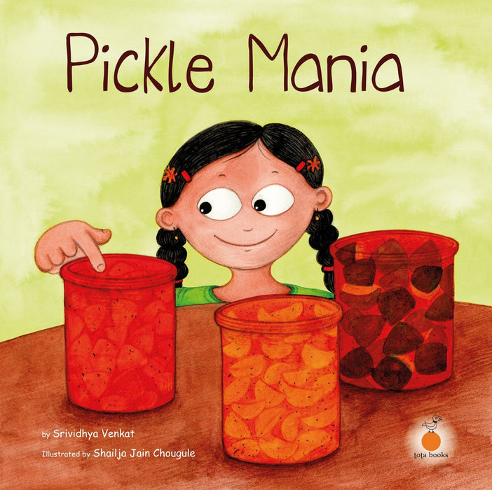 The Nestery: Tota Books - PICKLE MANIA-FRONT COVER