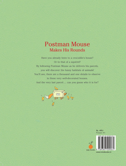 The Nestery: Tota Books - POSTMAN MOUSE MAKES HIS ROUNDS-BACK COVER