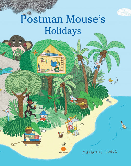 The Nestery: Tota Books - POSTMAN MOUSE'S HOLIDAYS-FRONT COVER