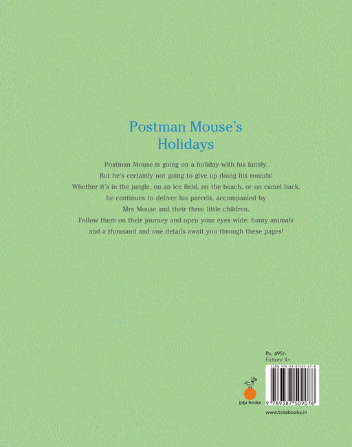 The Nestery: Tota Books - POSTMAN MOUSE'S HOLIDAYS-BACK COVER