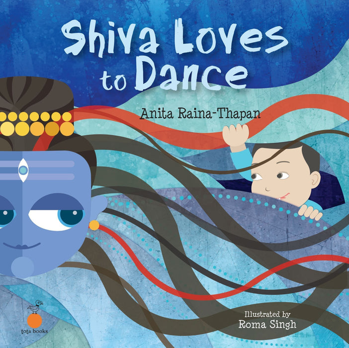The Nestery: Tota Books - SHIVA LOVES TO DANCE-FRONT COVER
