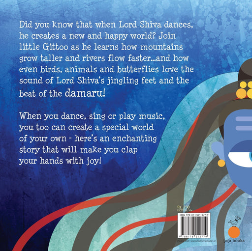 The Nestery: Tota Books - SHIVA LOVES TO DANCE-BACK COVER