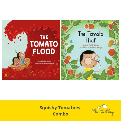 The Nestery: Tota Books - THE SQUISHY TOMATOES COMBO