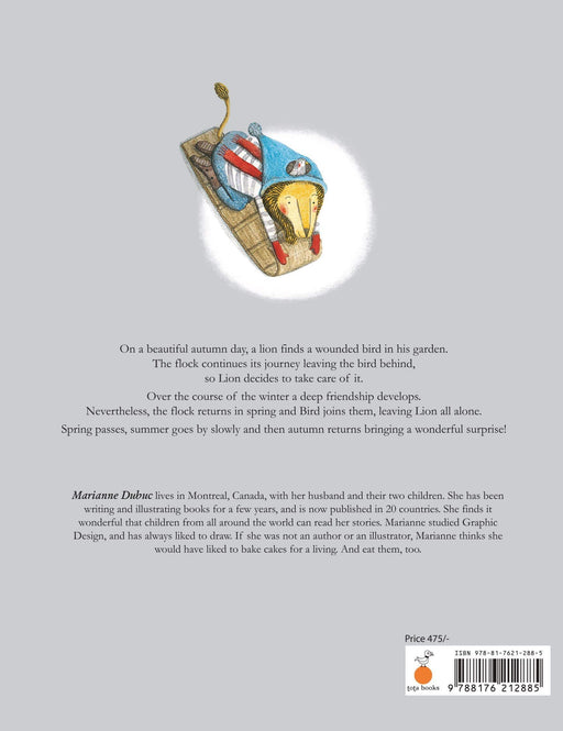 The Nestery: Tota Books - THE LION AND THE BIRD-BACK COVER