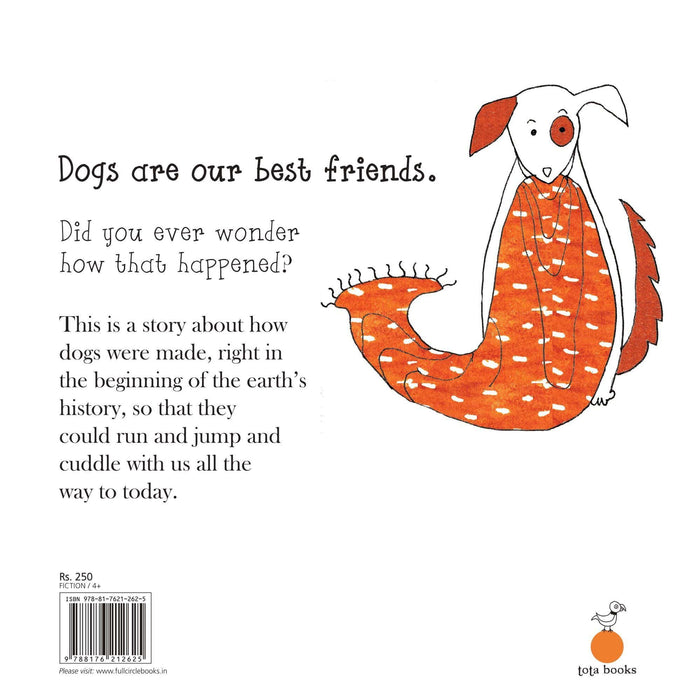 The Nestery: Tota Books - THE MAKING OF DOG-BACK COVER