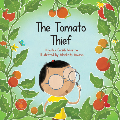 The Nestery: Tota Books - THE TOMATO THIEF-FRONT COVER