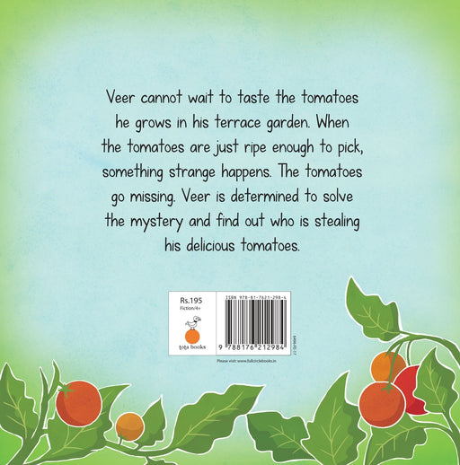 The Nestery: Tota Books - THE TOMATO THIEF-BACK COVER