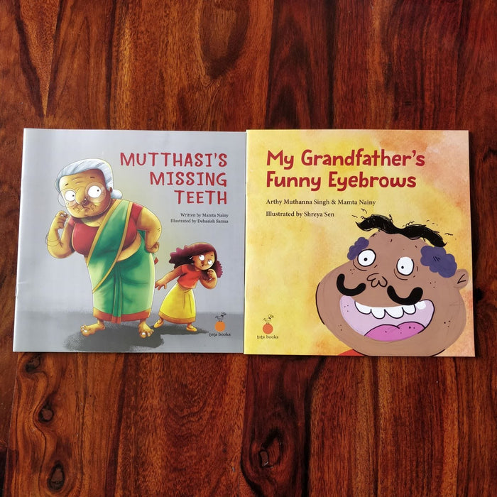 The Nestery: Tota Books - QUIRKY GRANDPARENTS COMBO