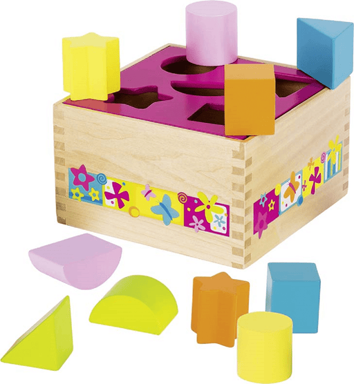 The Nestery: Toyroom Toys - Susibelle Wooden Shape Sorter