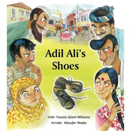 The Nestery: Tulika Books - ADIL ALI'S SHOES