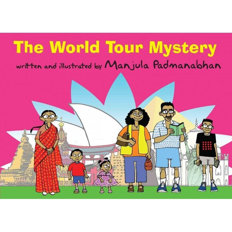 The Nestery: Tulika Books - THE WORLD TOUR MYSTERY