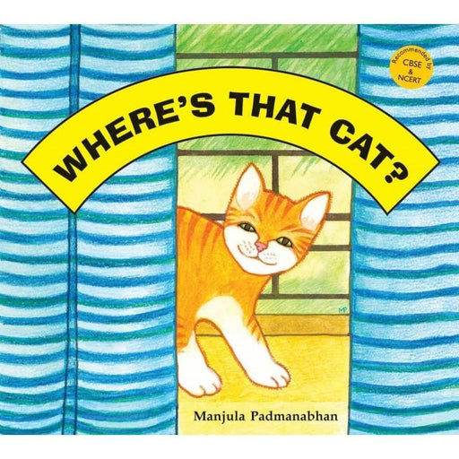 The Nestery: Tulika Books - WHERE'S THAT CAT?