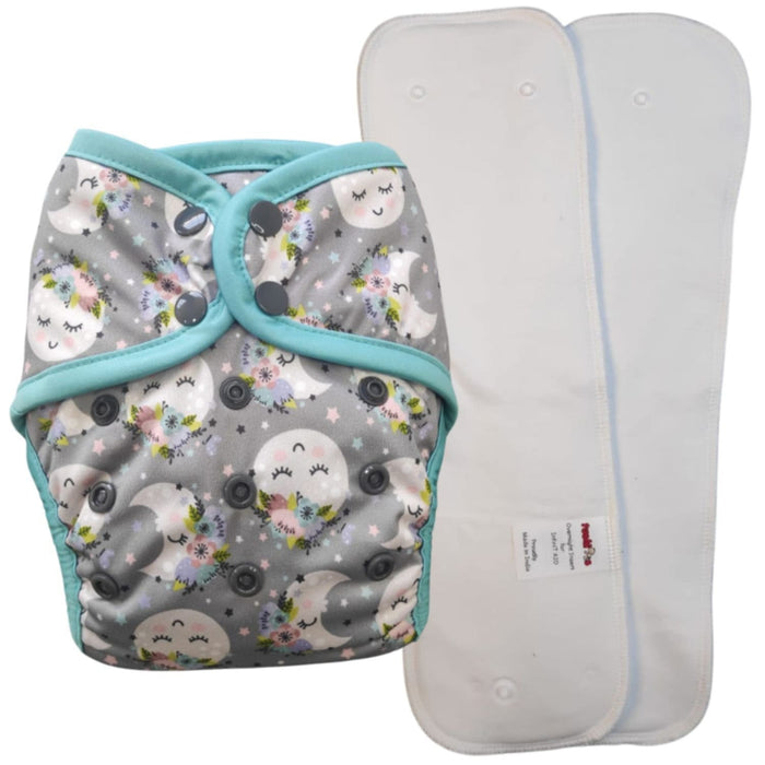 The Nestery : Tushions - Aio Overnight Diaper (15-25 Kgs) -  Moonpie