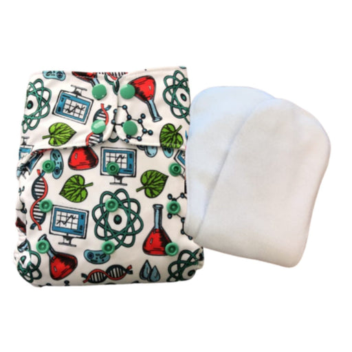 The Nestery : Green Diapers - Diwas Diaper Cover - Alchemist