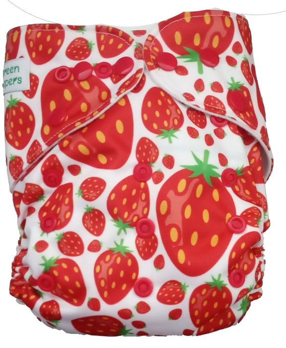 The Nestery: Tushions - Gd Pocket Diaper - Berry Special