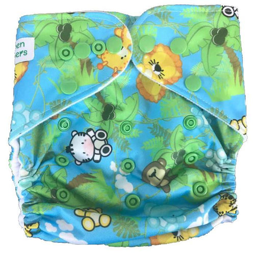 The Nestery: Tushions - Gd Pocket Diaper - Chubby Cubbies