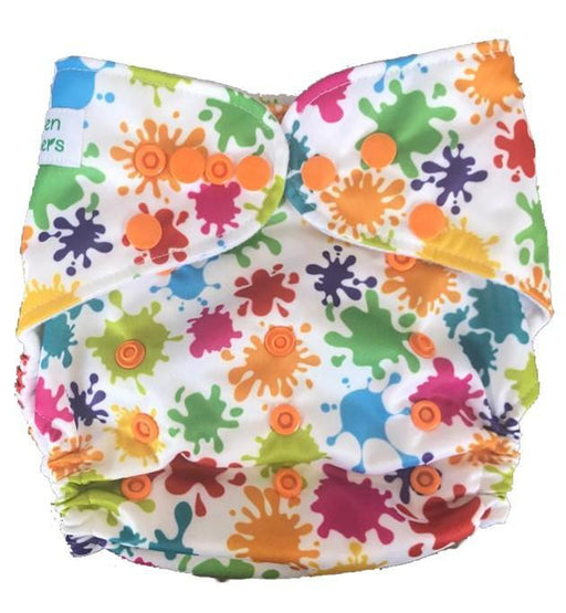 The Nestery: Tushions - Gd Pocket Diaper - Color Magic