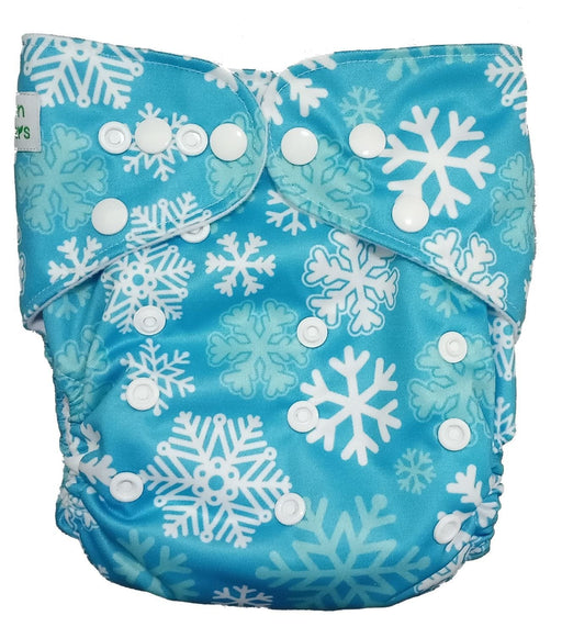 The Nestery: Tushions - Gd Pocket Diaper - Let It Snow