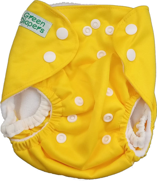 The Nestery: Tushions - Newborn Pocket Diaper - Yellow