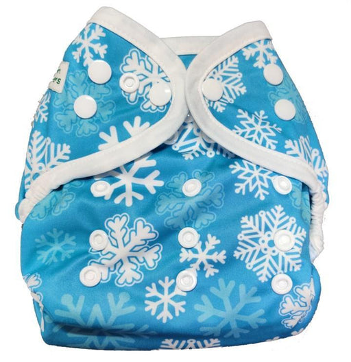 The Nestery: Tushions - Simpl Diaper Cover - Let It Snow
