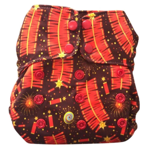 The Nestery : Green Diapers - Simpl Diaper Cover - Patakka (5 - 15 Kgs)