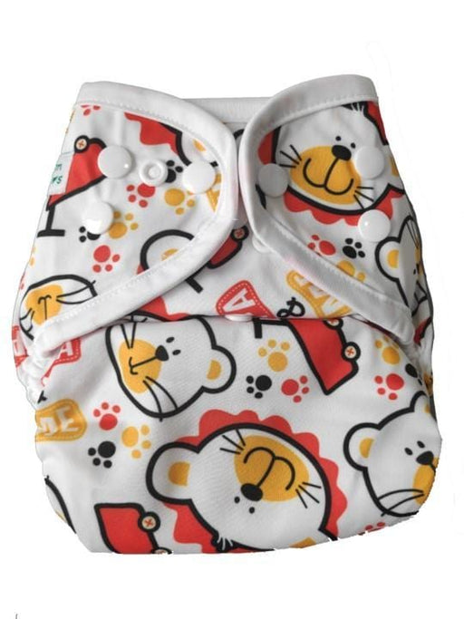 The Nestery: Tushions - Simpl Diaper Cover - Paw Paw Bear