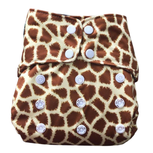 The Nestery : Green Diapers - Simpl Diaper Cover - Twiga (5 - 15 Kgs)