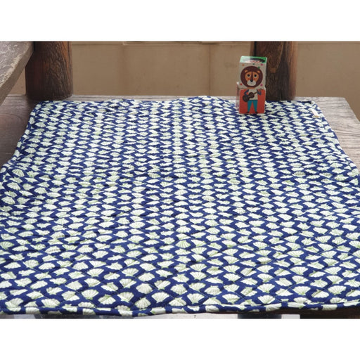 The Nestery : Welobaby - Infant Placemat - Blue Shells