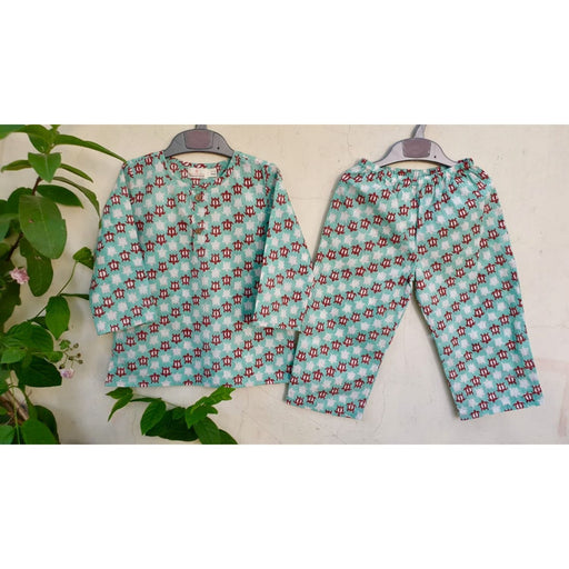 The Nestery : Welobaby - PJ Set - Green Turtle