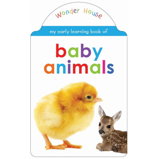 Wonder House Books -My Early Learning Book Of Baby Animals: Attractive Shape Board Books For Kids