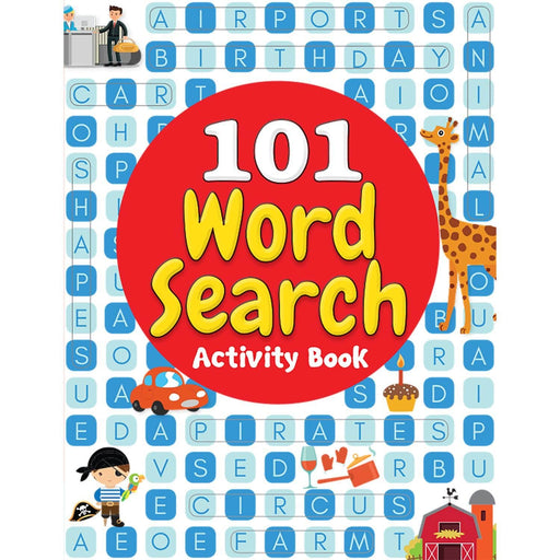 Wonder House Books -101 Word Search Activity Book: Large Grid Word Search Puzzles For Kids With Attractive Illustrations