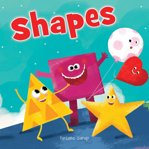 Wonder House Books -Shapes - Illustrated Book On Shapes