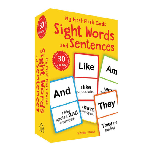 Wonder House Books -My First Flash Cards: Sight Words And Sentences (Flash Cards For Children)