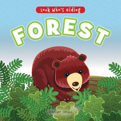 Wonder House Books -Look Who'S Hiding - Forest : Pull The Tab Novelty Books For Children