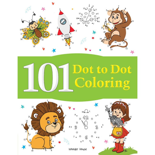 Wonder House Books -101 Dot To Dot Coloring: Fun Activity Book For Children