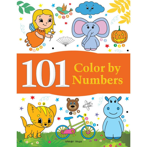 Wonder House Books -101 Color By Numbers: Fun Activity Book For Children