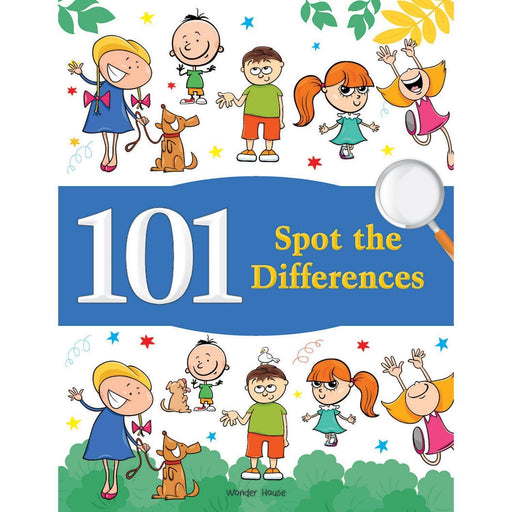Wonder House Books -101 Spot The Differences : Fun Activity Books For Children