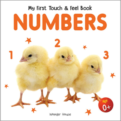 Wonder House Books -My First Book Of Touch And Feel - Numbers : Touch And Feel Board Book For Children